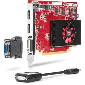 HP QP027AT Radeon HD 6570 Graphic Card - 1 GB DDR3 SDRAM - PCI Expres