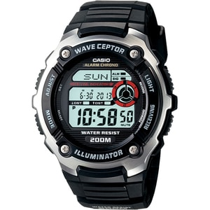 Men's Casio Wave Ceptor WV200A-1AV Wrist Watch