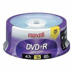 Maxell Standard 120mm DVD+R Media