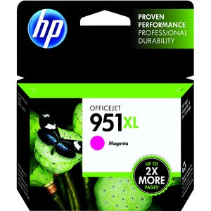 HP 950XL Ink Cartridge - Magenta - Thumbnail 0