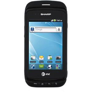 Sharp ADS1 Smartphone - Wi-Fi - 3.5G - Slider - Black