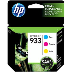 HP 933 Ink Cartridge - Cyan, Magenta, Yellow - Thumbnail 0