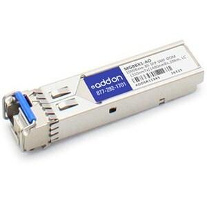 AddOn Linksys MGBBX1 Compatible TAA Compliant 1000Base-BX SFP Transce