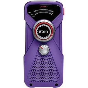 Purple FRX1 Hand Turbine AM/FM/NOAAWeather Radio/ LED Flashlight