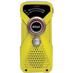 Yellow FRX1 Hand Turbine AM/FM/NOAAWeather Radio/ LED Flashlight