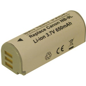 DENAQ 650 mAh Li-Ion Camera/Camcorder Battery for Canon Elph 510, 510