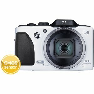 General Imaging Power Pro G100 14.4 Megapixel Compact Camera - White
