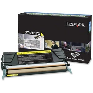 Lexmark Yellow Toner Cartridge (1) - Thumbnail 0