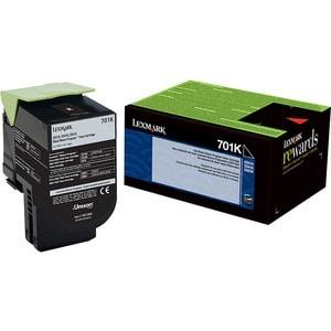 Lexmark Unison 701K Black Toner Cartridge