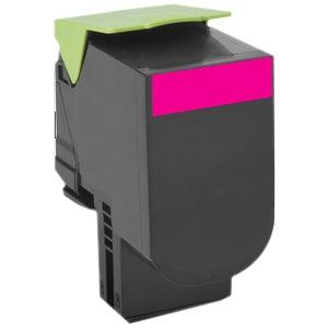 Lexmark Unison 800X3 Toner Cartridge - Magenta