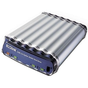 Buslink CipherShield 250GB USB 2.0 External Hard Drive - CS-250-U2