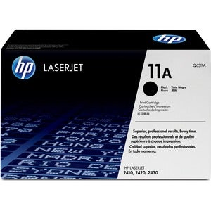 HP Black Print Cartridge - 6000 Page - Black