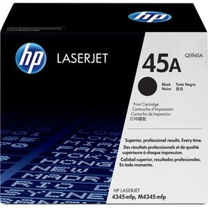 HP No. 45A Black Toner Cartridge - Thumbnail 0