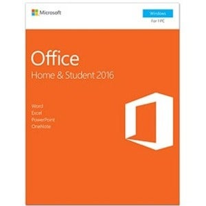 Microsoft Office 2016 Home & Student - 1 PC - Non-commercial, Mediale