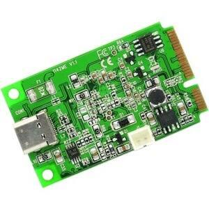 IO Crest Mini PCI-Express 2.0 to USB 3.1 Type-C Gen 2 card, ASM1142 Chipset