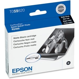Epson Compatible R2400 Matte Black Cartridge - Thumbnail 0