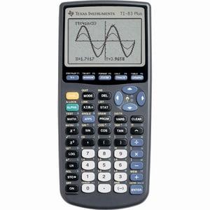 Texas Instruments 83 Plus Graphics Calculator (TI 83 Plus...