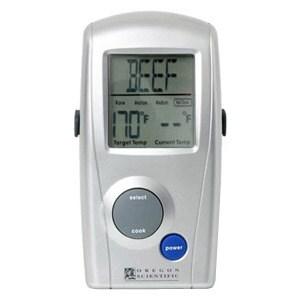 shop oregon scientific aw129 wireless bbq thermometer free rh overstock com