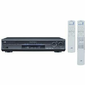 JVC RX-D302B 110W per Channel A/V Control Receiver (Refurbished)