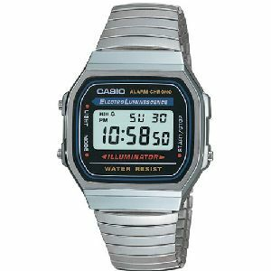 Casio A168W-1 Classic Wrist Watch (Illuminator Watch), Me...
