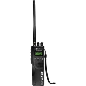 Cobra HH 38 WX ST Hand Held CB Radio with Weather & SoundTracker