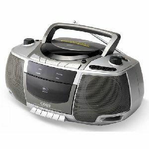 Coby CX-CD248 Portable CD / Radio / Stereo Cassette Player/Recorder