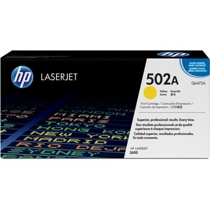 HP Yellow Toner Cartridge For Color LaserJet 3600 Printers