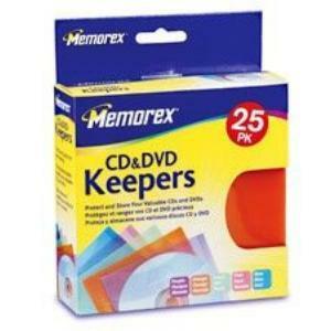 Memorex CD/DVD Keepers