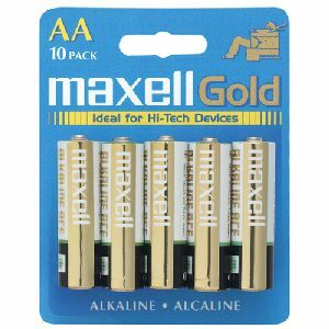 Maxell LR6 10BP AA-Size Battery Pack