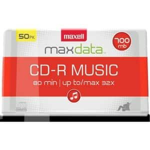 Maxell CD-R Digital Audio Media