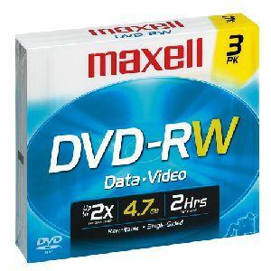 Maxell DVD-RW Media