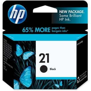 HP No. 21 Black Ink Cartridge