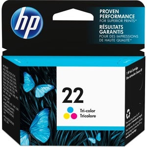 HP 22 Tri-Color Ink Cartridge