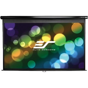 Elite Screens M150UWH Manual Series Manual Wall and Ceiling Projectio