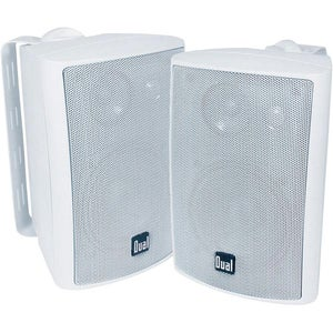 Dual LU43PW Indoor or Outdoor 100-watt Wall-mountable Speakers