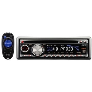 JVC Built-in HD Radio with MP3/ WMA Playback