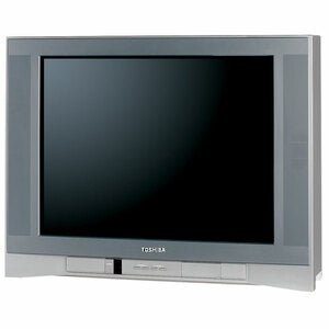 Toshiba 27DF46 27-inch FST Pure TV (Refurbished) - Thumbnail 0