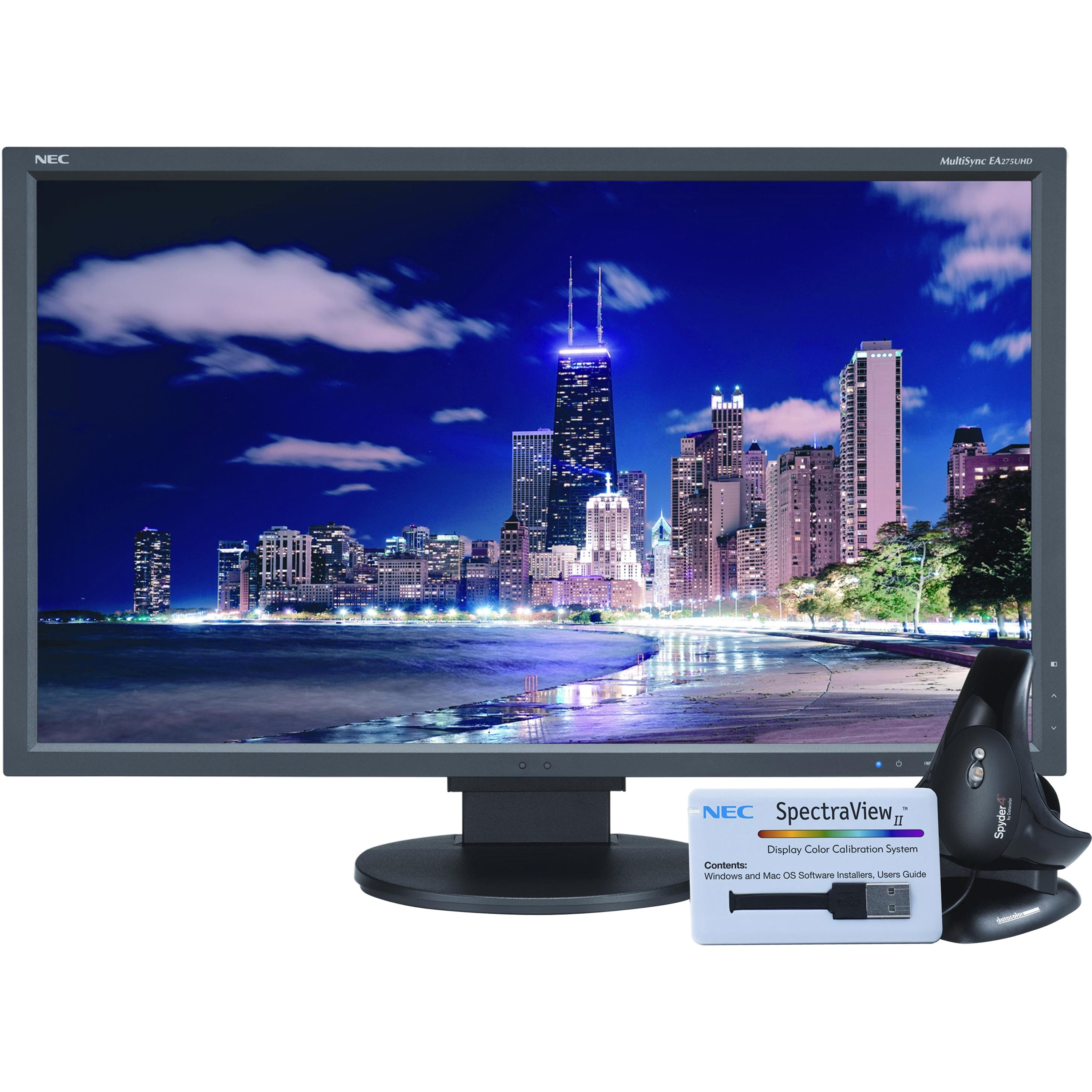 "NEC Display SpectraView EA275UHD-BK-SV 27"" LED LCD Monito..."