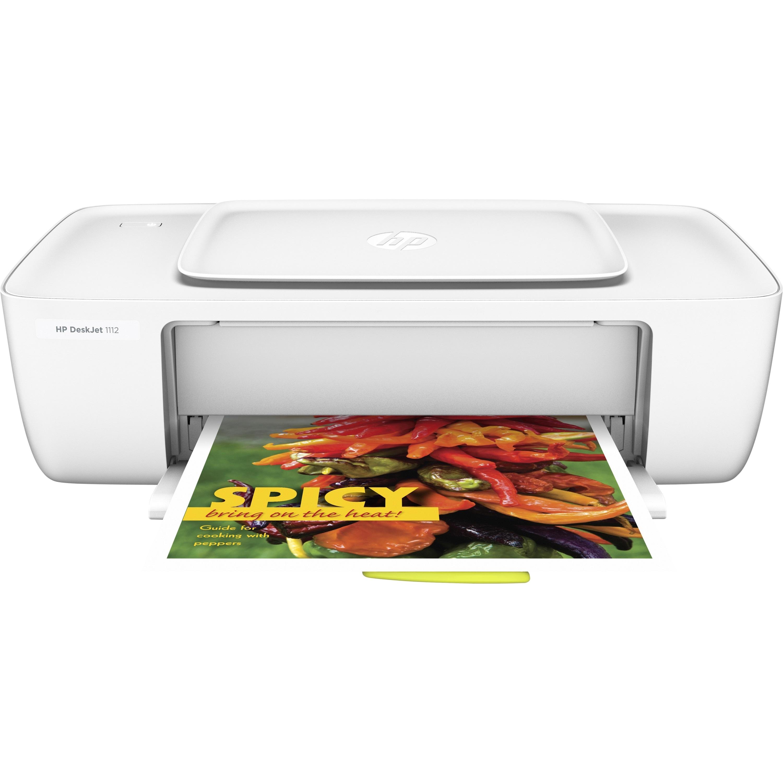 Hp deskjet 1112 inkjet printer color 4800 x 1200 dpi print plai