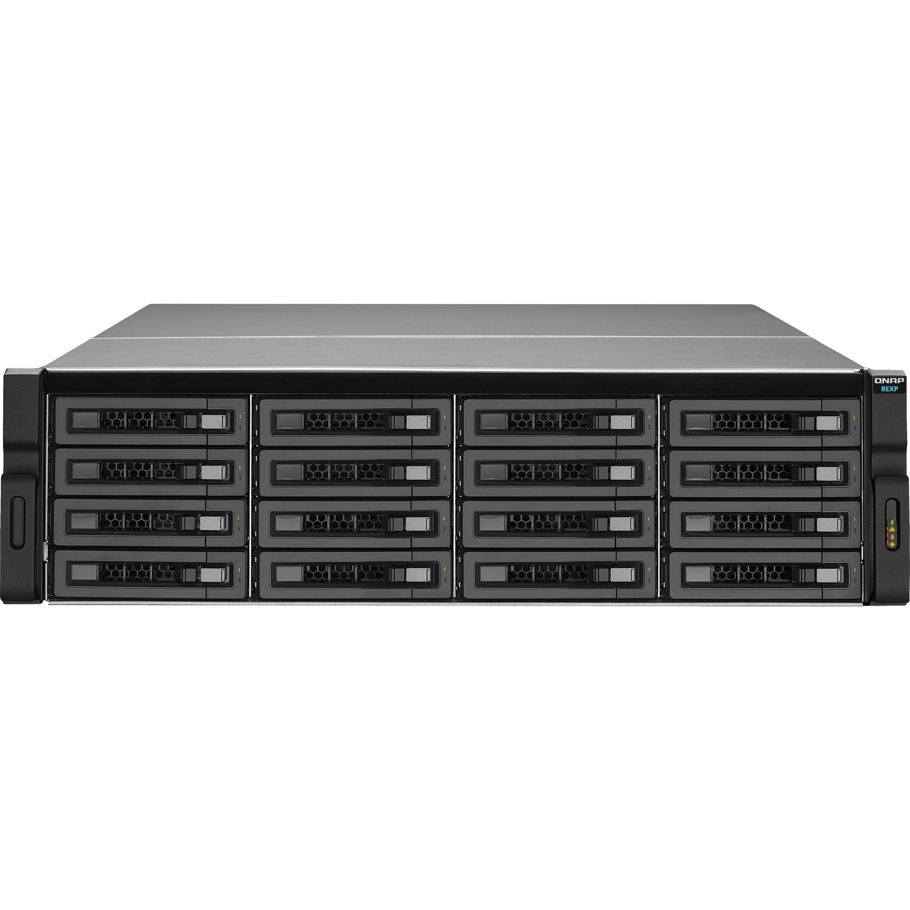 Qnap Rexp 1620u Rp Drive Enclosure 3u Rack Mountable