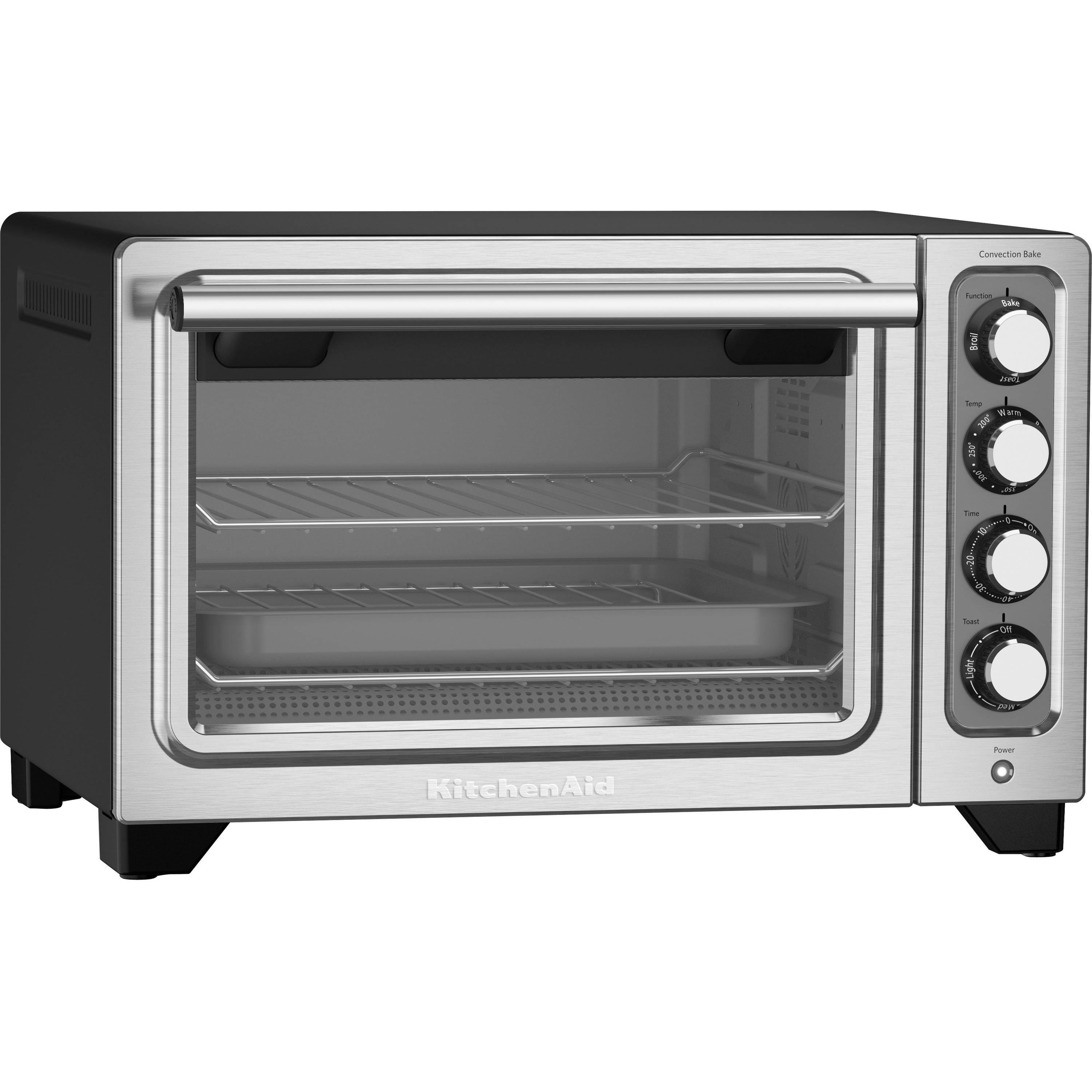 KitchenAid Compact Oven, Silver Stainless Steel
