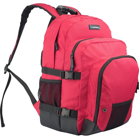 TechProducts360 Tech Pack Carrying Case Notebook - Red