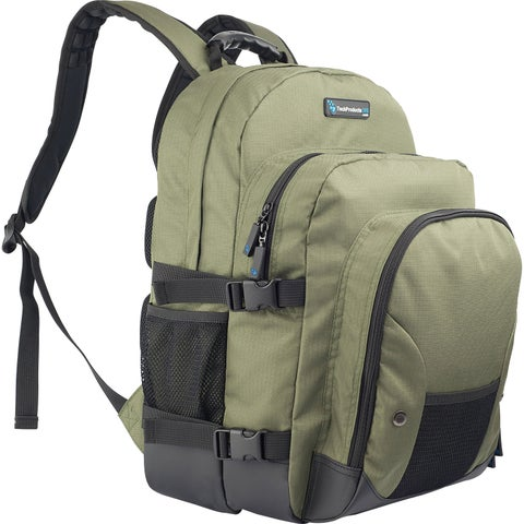TechProducts360 Tech Pack Carrying Case Notebook - Green