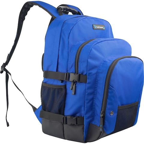 TechProducts360 Tech Pack Carrying Case Notebook - Blue