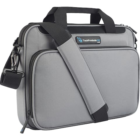 "TechProducts360 Vault Carrying Case for 12"" Notebook - Gray"