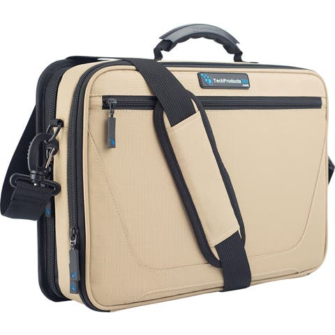"TechProducts360 Work-In Vault Carrying Case for 11"" Netbook - Khaki"