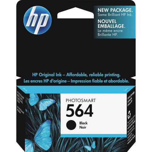 HP 564 Black Ink Cartridge - Thumbnail 0