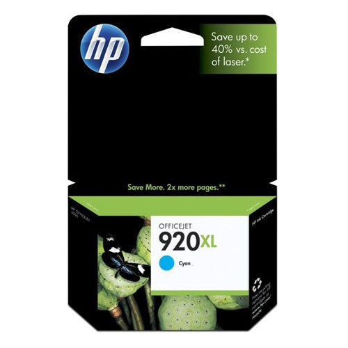 HP No. 920XL Cyan Ink Cartridge
