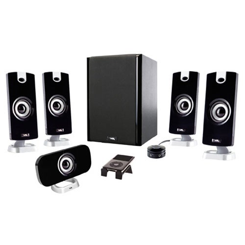 Cyber Acoustics CA-5402 5.1 Speaker System - 30 W RMS