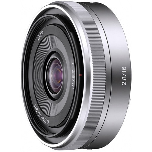 Sony E-Mount SEL16F28 16mm f/2.8 Wide-Angle Alpha E-Mount Lens (New Non Retail Packaging)